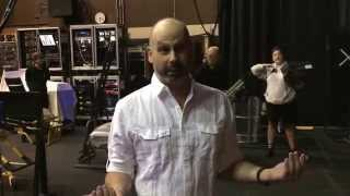 Backstage tour of Ghost the Musical at Segerstrom Center - Part 1