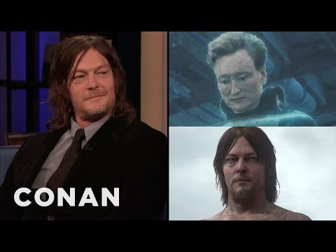 "Norman Reedus & Conan On Their Roles In ""Death Stranding"" - CONAN On TBS"