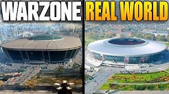 Warzone Locations VS Real Life Locations (Call of Duty Warzone Map)