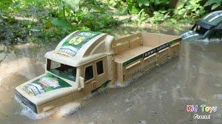 Amazing Military Trucks In The Mud & Water