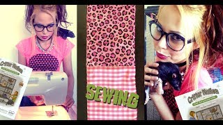 Sewing For Pet Rats | Critter Nation Double Unit Rat Cage | How To Make A Ramp Cover | Fashion