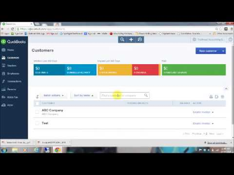 QBO Tutorial - How to Write off Bad Debt in QuickBooks
