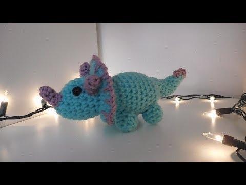Crochet T-Rex Amigurumi Free Pattern- #Amigurumi; #Dinosaur; Free ... | 360x480