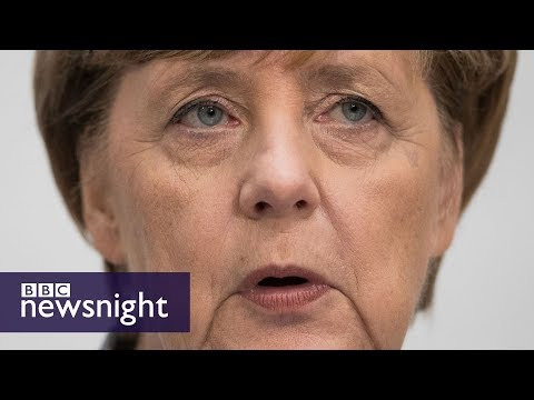 Angela Merkel's bittersweet victory in Germany as AfD win seats - BBC Newsnight