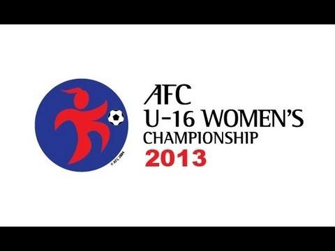 IR Iran Vs Guam: AFC U-16 Women's Championship 2013