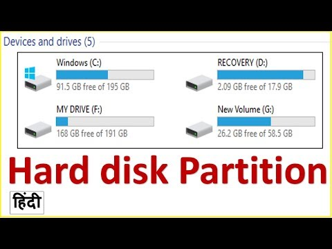 Hard Drive Partition On Computer ? Computer Mai Hard Drive Partition Kese Karte Hai ?