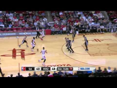 San Antonio Spurs vs Houston Rockets | April 14, 2014 | NBA 2013-14 Season