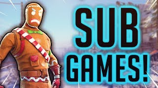 PLAYING WITH SUBS! - FORTNITE XBOX LIVE STREAM!! - SEASON 7 HYPE