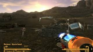 Fallout New Vegas -  How to leave Big MT (Old World Blues DLC)