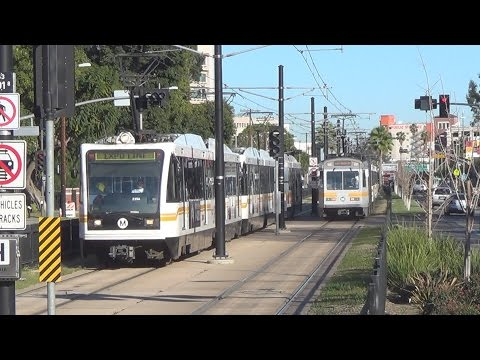 Metro Expo Line In Various Places