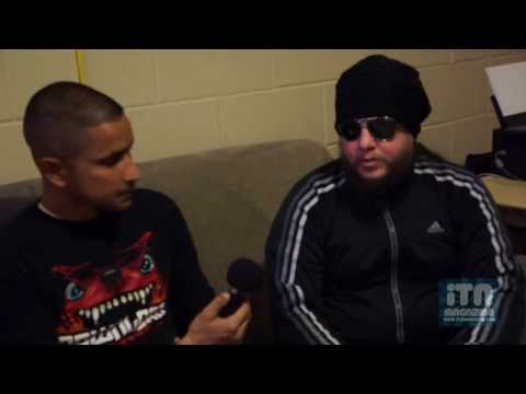 In The Now Magazine Interview With Scar The Martyr - Chesapeake Energy Arena - OKC - 11/15/2013