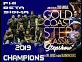 Phi Beta Sigma 2019 Gold Coast Step Champions