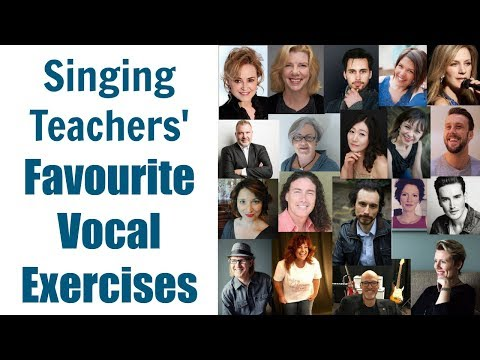 SINGING TEACHERS ANSWER: What is one of your favourite vocal exercises?
