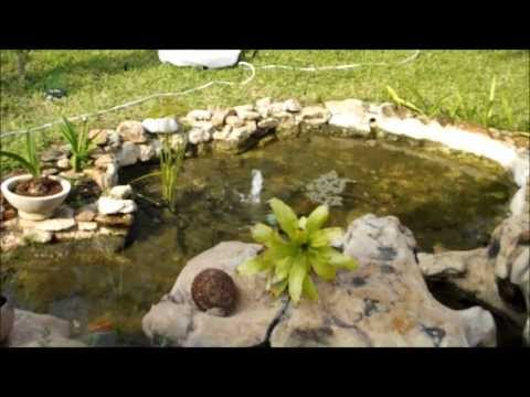 Como hacer un estanque econ mico en tu casa doovi for Estanque en casa