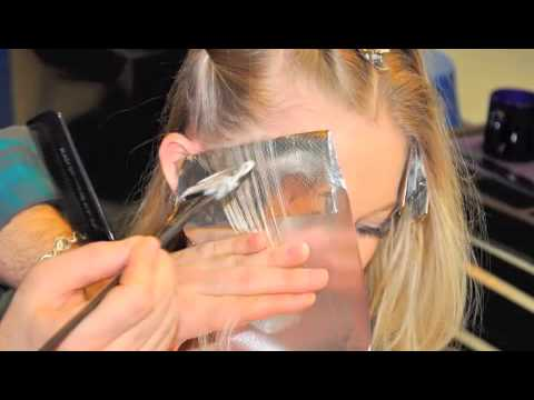 Partial Highlight Blonding Amp Base Enhancement Youtube