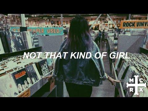not that kind of girl // my chemical romance - lyrics