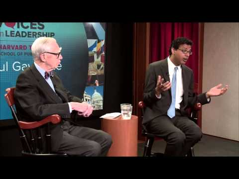 Leading as a Surgeon by Day, Writer by Night | Atul Gawande | Voices in Leadership
