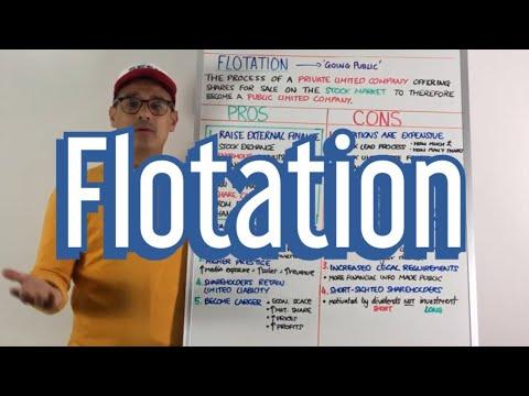 Flotation - GCSE Business & A Level Business