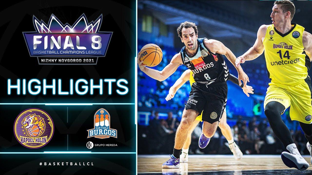 Hapoel Unet-Credit Holon v Hereda San Pablo Burgos - Highlights | Basketball Champions League 20/21