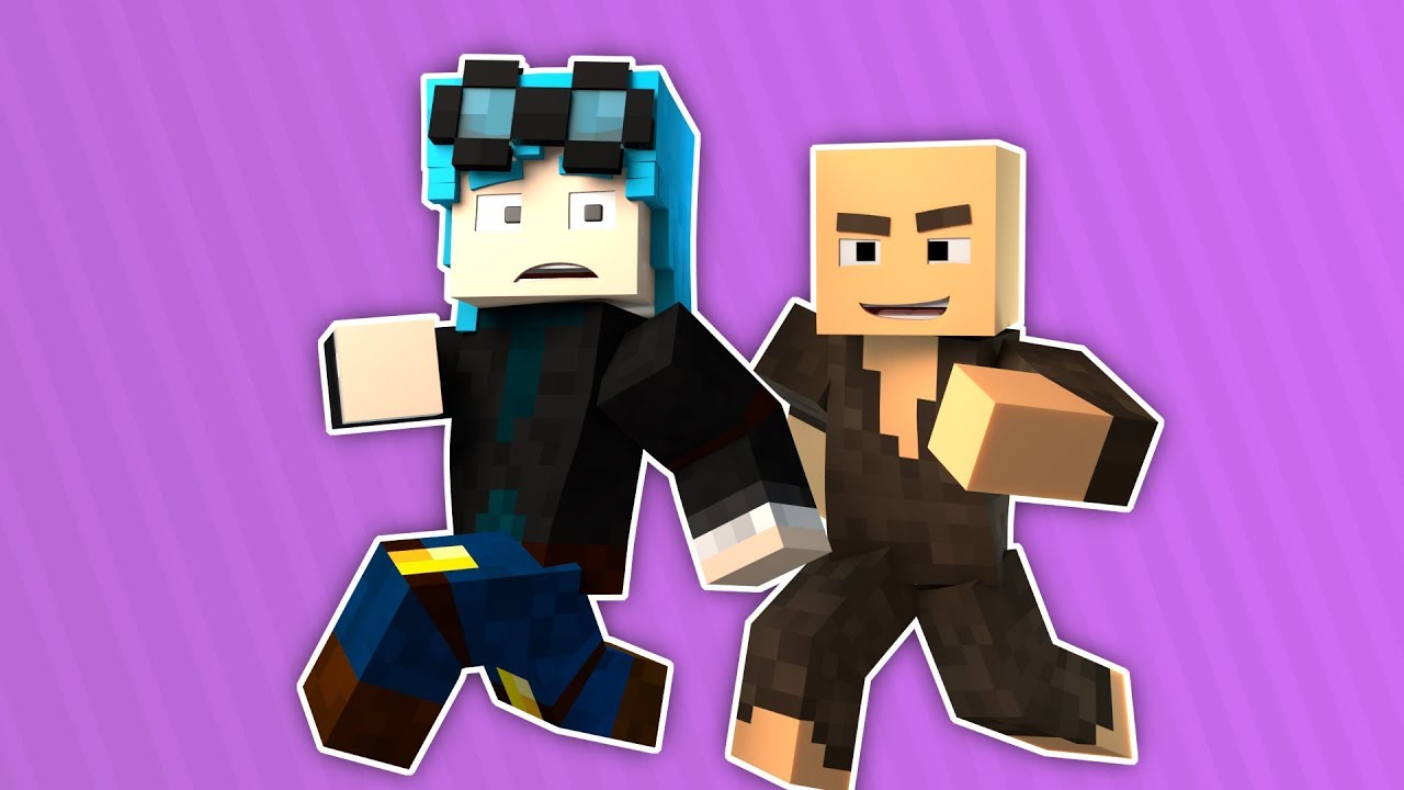 BEST HIDE AND SEEKING EVER!!!! - DanTDM - Minecraft Animation