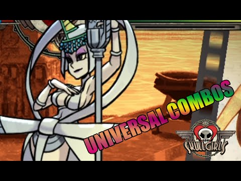 【SkullGirls】Eliza Universal Combos Compilation
