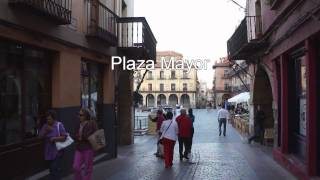 An Evening in the Plazas of Leon, Spain