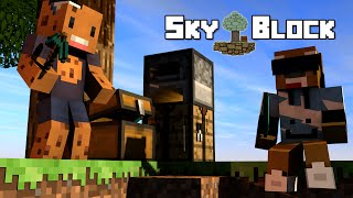 Minecraft - SkyBlock | Bedrock?!?! OMG :O:O [Ep.15]
