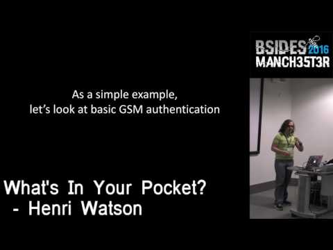2016 - Henri Watson - What's in your pocket?