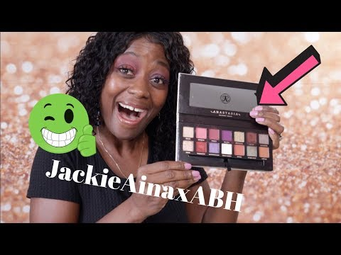 Jackie Aina x Anastasia Beverly Hills First Impressions thumbnail
