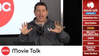 AMC Movie Talk - New AVENGERS 2 Trailer Review! New Cast for INDEPENDENCE DAY 2