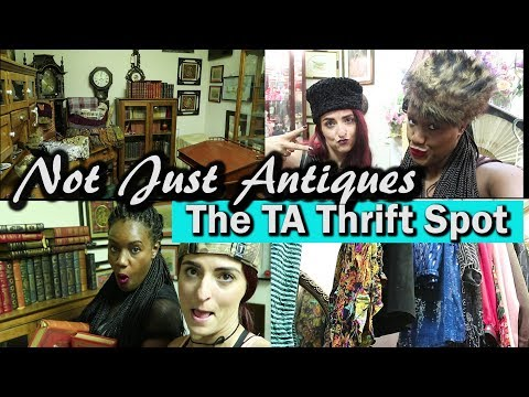 Selling our sequin, Storage Wars finds, & our new spot| Come Thrifting With Us| #ThriftersAnonymous