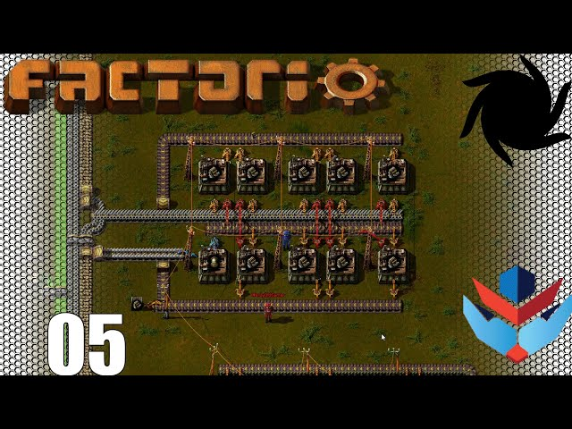 Factorio 1.0 Multiplayer 1K SPM Challenge - 05 - Engines and Rails