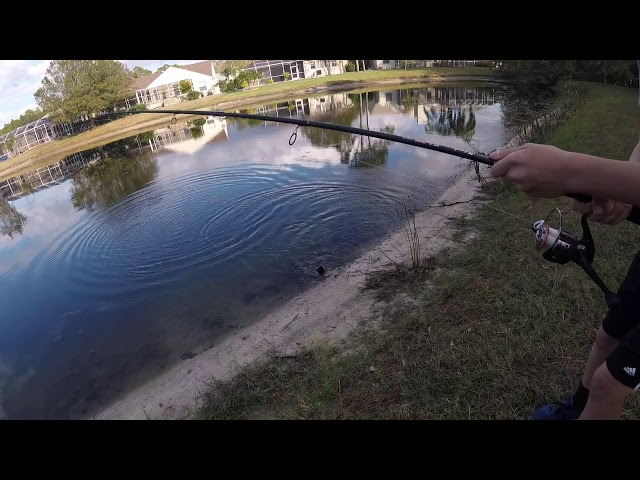 Fishing With Daniel On New GoPro