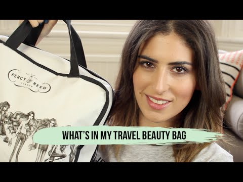 What's In My Travel Beauty Bag // Lily Pebbles