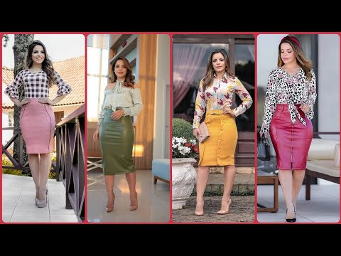 Stylish And Stunning Bodycon Skirts Dresses /Office Outfits Idea's For Girls /Womens