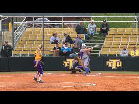Highlights: TTU Softball Vs Tennessee State 4/6/18 Game 1