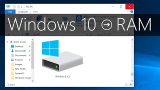 Windows 10 - How to Check RAM and System Specs thumbnail