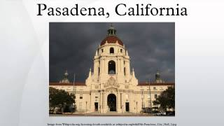 Pasadena, California