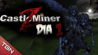 CASTLE MINER Z SURVIVAL: Zombies Nocturnos #1