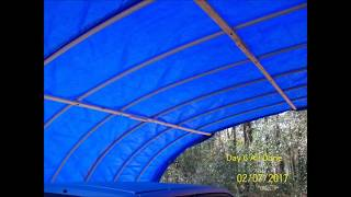 Pvc Pipe Tarp Shelter