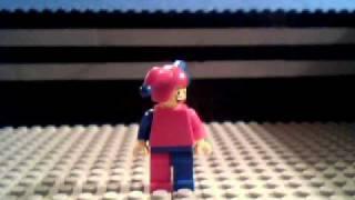The Exploding Lego Man