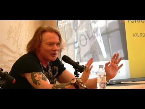 Guns N' Roses Axl Rose On How He Gets Ready for a Show