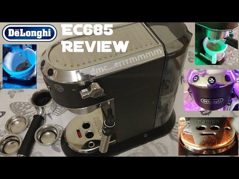 Delonghi Dedica EC685 Espresso Machine Review.