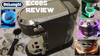 Delonghi Dedica EC685 Espresso Machine Review.