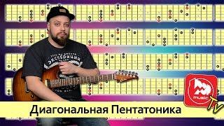 Диагональная Пентатоника - уроки игры на электрогитаре