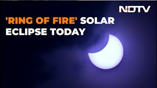 "Solar Eclipse 2020: ""Ring Of Fire"" Visible From Parts Of India"