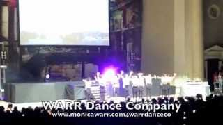WARR Dance Company at Scream Tour