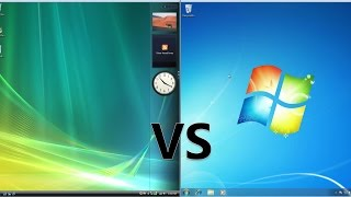 Comparing Windows 7 to Windows Vista!