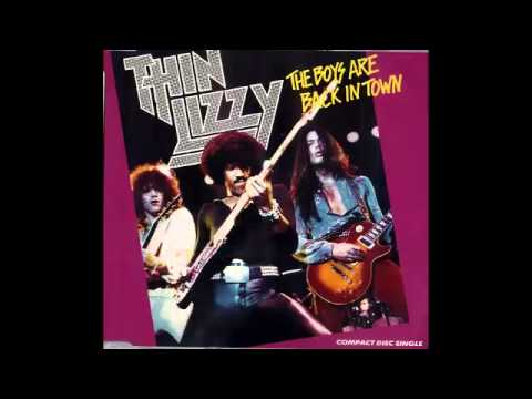Thin Lizzy - Boys Are Back (retuned to A)