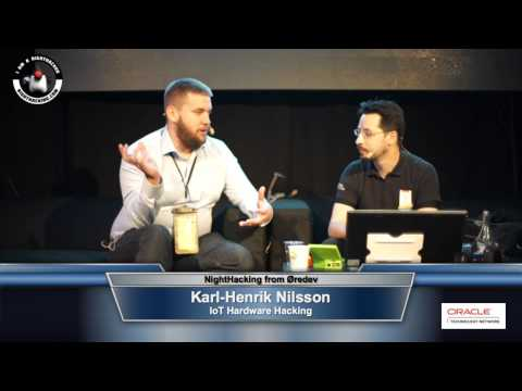 Karl-Henrik Nilsson on IoT Hardware Hacking